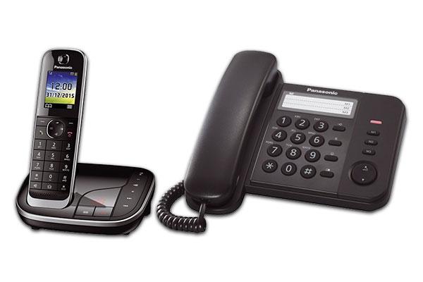 Telefone und Anrufbeantworter