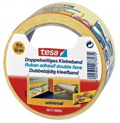 Verlegeband / Klebeband doppelseitig 10 m x 50 mm  universal