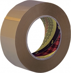 Verpackungsklebeband 6890 PVC, 66 m x 38 mm, braun
