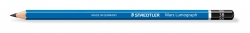 Bleistift  Mars® Lumograph® - 3B, blau