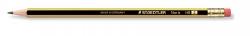 Noris® Bleistift 122 mit Radiertip, HB