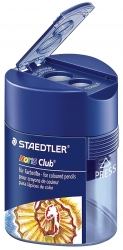 Doppel-Spitzdose Noris® Club® 512 128 - Ø 8,2 mm, Ø 10,2 mm, blau-transparent