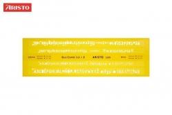 ISONORM-Schriftschablone Duo Fineliner, gerade (Mittelschrift), 0,35/0,5 mm