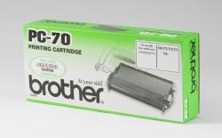 Brother® Thermotransfer-Rollen schwarz, 144 Seiten, PC70