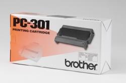 Brother® Thermotransfer-Rollen schwarz, 235 Seiten, PC301