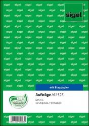 Aufträge - A5, BL, MP, 2 x 50 Blatt