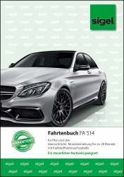 Fahrtenbuch für Pkw und Lkw - mit Klammerheftung, A5, 32 Blatt