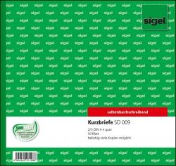 Kurzbriefe CFB - 2/3 A4, SD, 50 Blatt