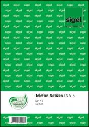 Telefon-Notizen - A5, 50 Blatt