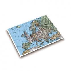 Landkarten-Schreibunterlage - 53 x 40 cm, EUROPAKARTE