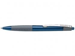Druckkugelschreiber Loox - M, blau (dokumentenecht)