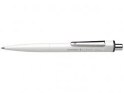 Druckkugelschreiber K3 Biosafe - M, schwarz (dokumentenecht), weiß