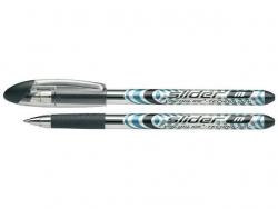 Kugelschreiber Slider Basic - M, schwarz (dokumentenecht)