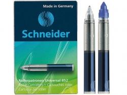 Rollerpatrone Universal 852 - M, königsblau, 5er Schachtel