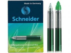 Rollerpatrone Universal 852 - M, grün, 5er Schachtel