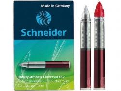 Rollerpatrone Universal 852 - M, rot, 5er Schachtel