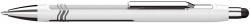 Kugelschreiber Epsilon Touch - XB, blau (dokumentenecht), weiß/silber