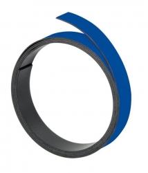 Magnetband, 100 cm x 10 mm, 1 mm, blau