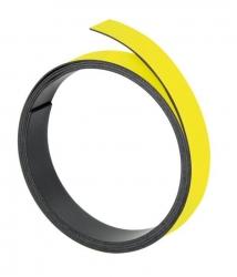 Magnetband, 100 cm x 10 mm, 1 mm, gelb