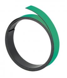 Magnetband, 100 cm x 10 mm, 1 mm, grün