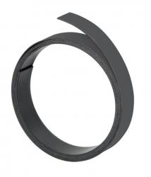 Magnetband, 100 cm x 10 mm, 1 mm, schwarz