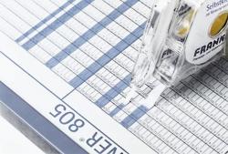 Einteilungsband für Planungstafel, 8 mm x 10 m