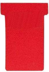 Kartentafel-Zubehör T-Karten - Größe 2, rot