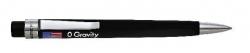 Kugelschreiber Spacetec O-Gravity schwarz