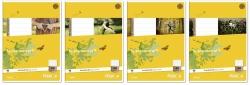 Heft LIN40 A4 32 Blatt 80g/qm 5mm kariert mit Umrandung