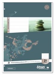 Arbeitsblätterblock LIN21 A4 50 Blatt 80g/qm 9mm liniert
