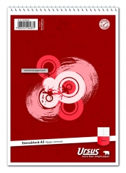 Stenoblock - A5, 40 Blatt, 70g/qm, liniert