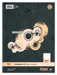 Collegeblock A4 80 Blatt 70g/qm 5mm kariert