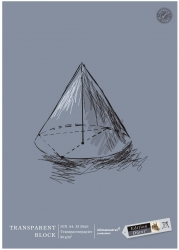 Transparentblock - A4, 25 Blatt, 80g/qm