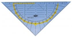Geometrie-Dreieck ohne Griff, 160 mm
