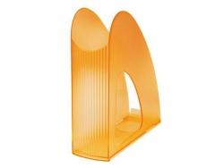 Stehsammler TWIN - DIN A4/C4, transluzent-orange