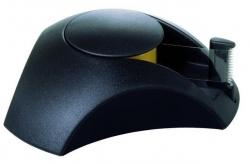 Klebefilm-Abroller DELTA, für Klebeband 33 m x 15 mm, schwarz
