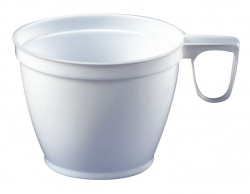 Einweg-Geschirr - Kunststoff, Kaffeetasse, 0,18 l