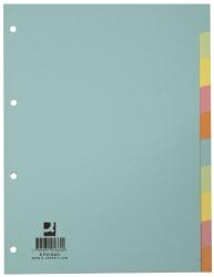 Register - blanko, A4, 10 Blatt, Taben 10-farbig