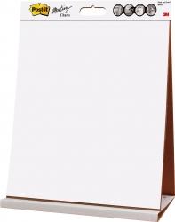 Flipchart-Block Meeting Chart Table Top, weiß, 90 g/qm, blanko/blanko, 20 Blatt