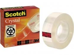 Klebeband Crystal Clear 600, Zellulose Acetat, Bandgröße (L x B): 66 m x 19 mm