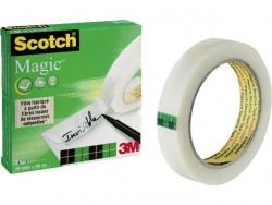 Klebeband Magic 810, Zellulose Acetat, unsichtbar, beschriftbar, 66 m x 19 mm
