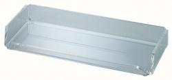 Acryl-Stifteschale, 1 Fach, 220 x 30 x 100 mm, glasklar