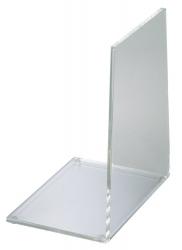 Acryl-Buchstütze, 40 mm, 136 x 93 x 158 mm, glasklar