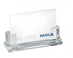 Acryl-Visitenkarten-Halter, ca. 35 Karten, 110 x 44 x 32 mm, glasklar