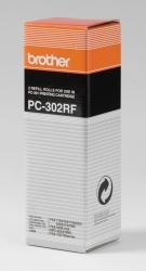 Brother® Thermotransfer-Rollen schwarz, 235 Seiten, PC302RF