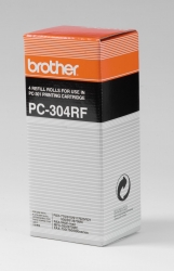 Brother® Thermotransfer-Rollen schwarz, 235 Seiten, PC304RF