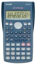 Taschenrechner FX-82MS, 240 Funktionen, Batteriebetrieb, 85 x 115 x 12,2 mm