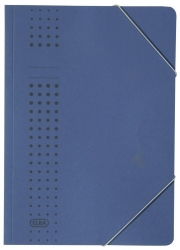 Eckspanner chic, Karton (RC), 320 g/qm, A4, dunkelblau