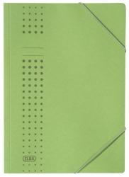 Eckspanner chic, Karton (RC), 320 g/qm, A4, grün
