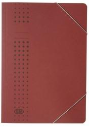 Eckspanner chic, Karton (RC), 320 g/qm, A4, bordeaux